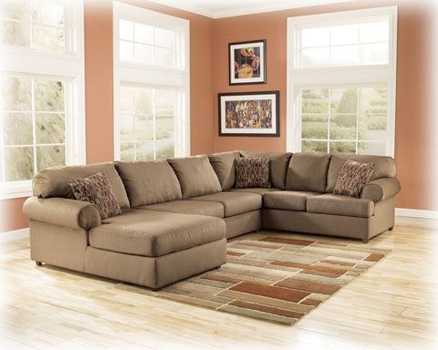 Brody - Mocha Sectional (left side chaise) 76003SE1