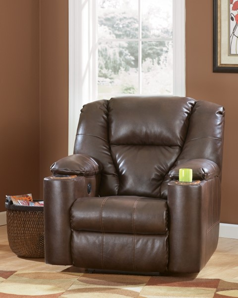 Paramount DuraBlend - Brindle Power Recliner 7640106