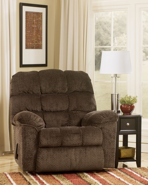 Taboo - Chocolate Rocker Recliner 7720125