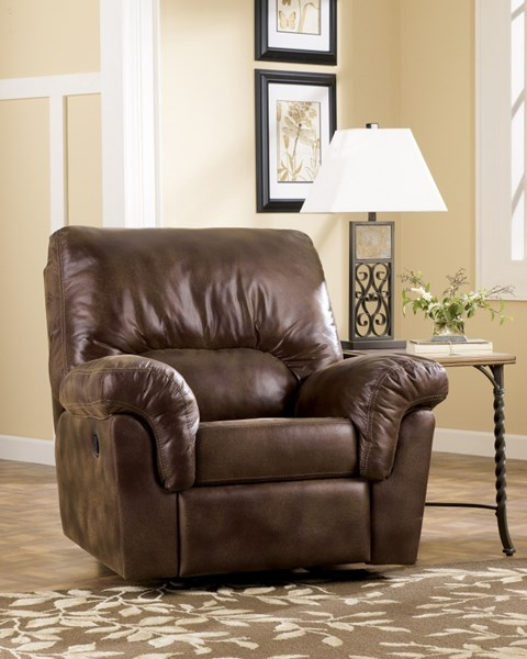 Frontier Contemporary Canyon Fabric Rocker Recliner 7760025