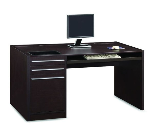 Coaster Furniture Cappuccino Wood Drawers Computer Desk CST-800982