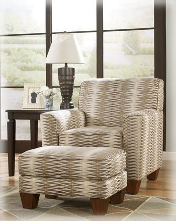 Kelton Thistle Accent Ottoman The Classy Home