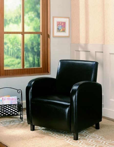 Contemporary Brown Fabric Wood Vinyl Chair CST-900334