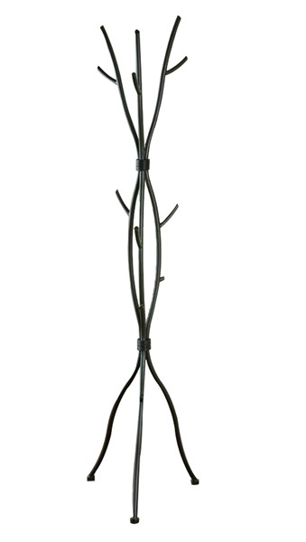 Casual Brown Metal Slate Feet Coat Rack CST-900864