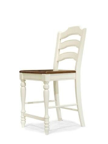 Concord 2 Ladder Back Pub Chairss (Wood seat) 9390-945 KD 9390-945 KD