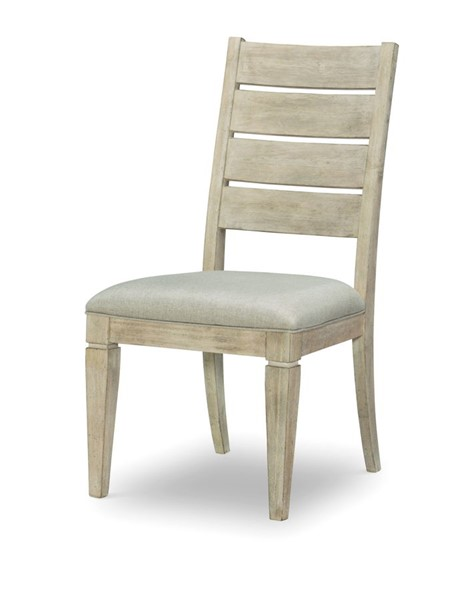 2 Legacy Furniture Milano by Rachael Ray Sandstone Ladder Back Side Chair LGC-9660-140