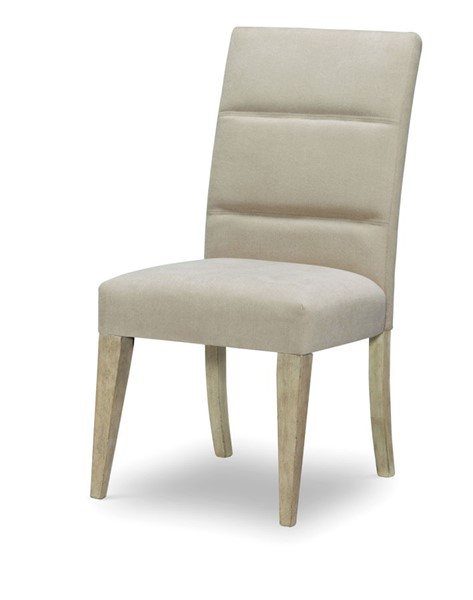 2 Legacy Furniture Milano by Rachael Ray Sandstone Upholstered Back Side Chair LGC-9660-240