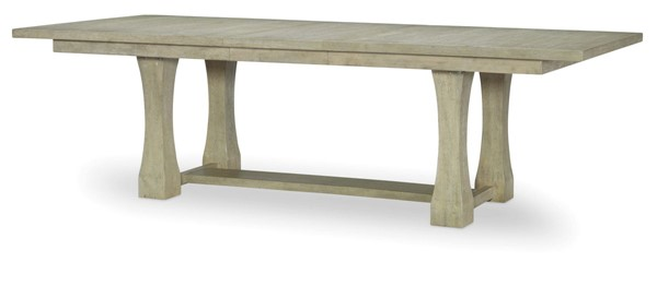 Legacy Furniture Milano by Rachael Ray Sandstone Rectangle Trestle Table LGC-9660-622