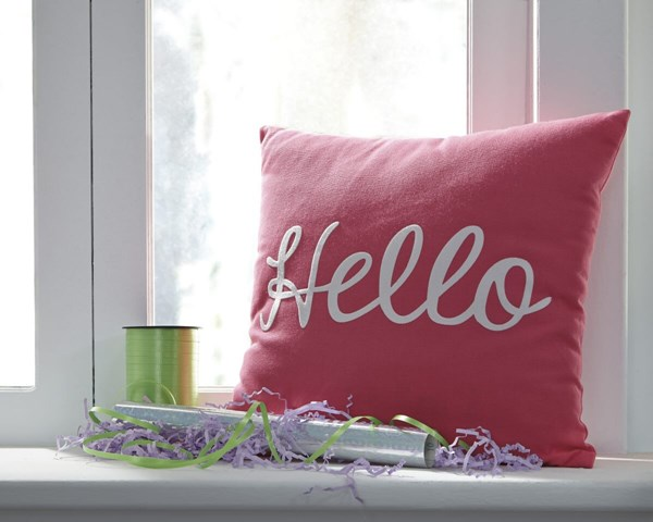 Shapeleigh Youth Pink Machine Washable Pillow A1000632P