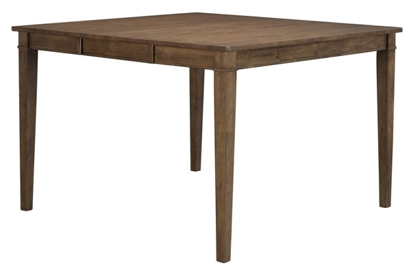 A-America Blue Mountain Nut Brown 18 Inch Butterfly Leaf Gathering Height Leg Table AAF-BLUNB6750