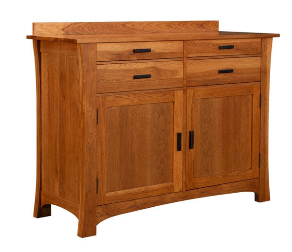A-America Cattail Bungalow Warm Amber Sideboard AAF-CATAM9010