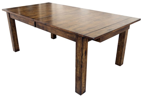 A-America Mariposa Rustic Whiskey 18 Inch Butterfly Leaves Leg Tables AAF-MRP-6200-DT-VAR
