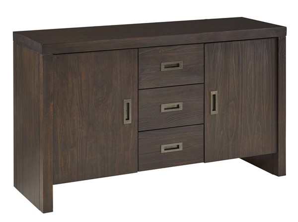 A-America Palm Canyon Carob Brown 54 Inch Sideboard AAF-PAMCR9020