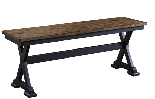 A-America Stone Creek Chickory Black Bench AAF-STOBL295K