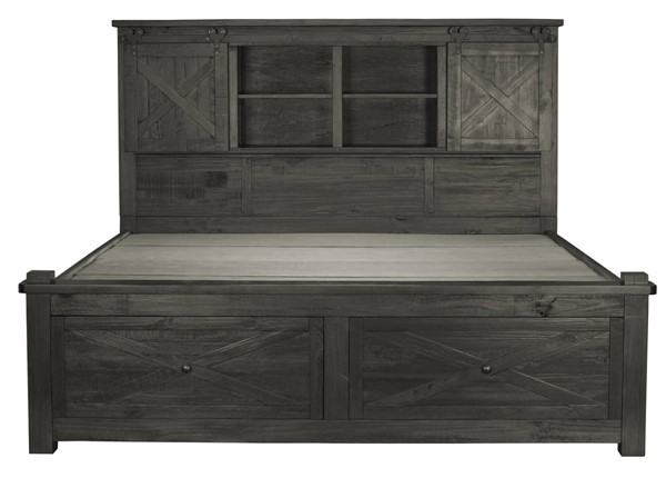 A-America Sun Valley Charcoal Storage Beds with Integrated Bench AAF-SUV-5-31-SBED-VAR