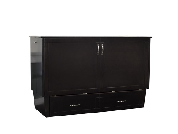 Atlantic Furniture Madison Espresso Queen Murphy Chest Bed