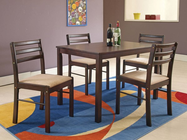 Acme Furniture Parkwood Cappuccino 5pc Dining Set ACM-00880