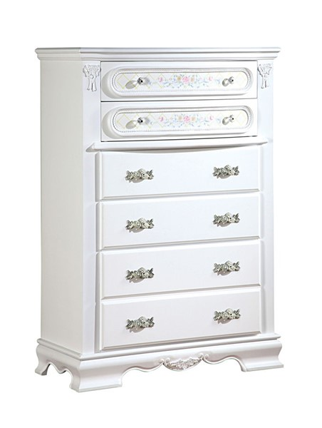 Acme Furniture Flora White Chest ACM-01666