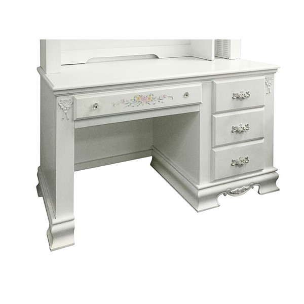 Acme Furniture Flora White Computer Desk ACM-01687