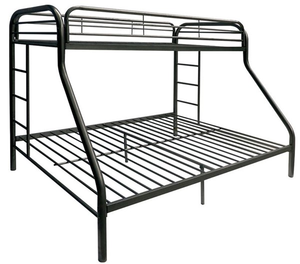 Acme Furniture Tritan Black Twin Over Full Bunk Bed ACM-02053BK