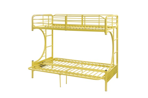 Acme Furniture Eclipse Yellow Metal Futon Bunk Bed ACM-02081YL
