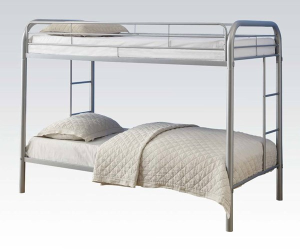 Thomas Silver Yellow Red Metal Twin/Twin Bunk Beds ACM-02188A-BB-VAR
