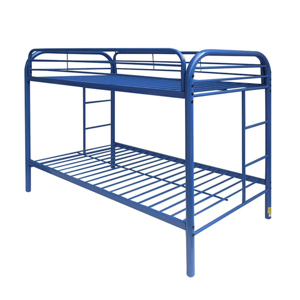 Acme Furniture Thomas Blue Twin Over Twin Bunk Bed ACM-02188BU