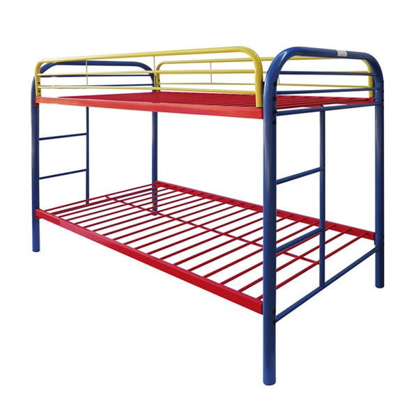 Acme Furniture Thomas Rainbow Twin Over Twin Bunk Bed ACM-02188RNB