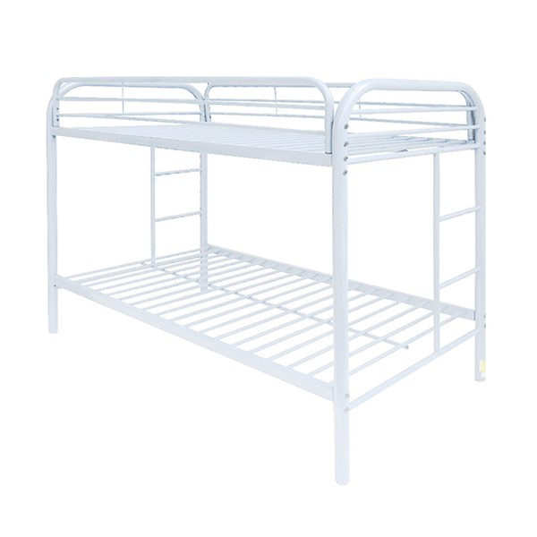 Acme Furniture Thomas White Twin Over Twin Bunk Bed ACM-02188WH
