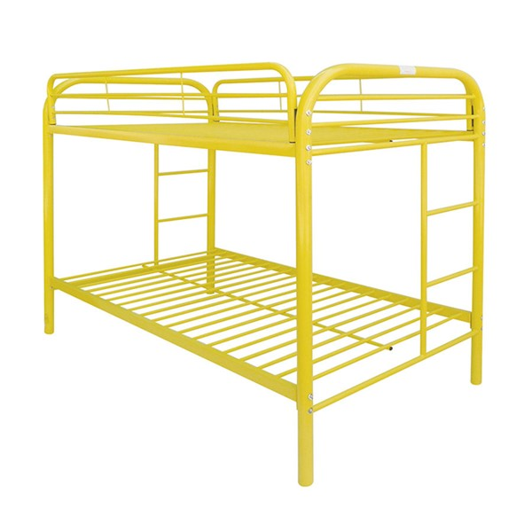 Acme Furniture Thomas Yellow Twin Over Twin Bunk Bed ACM-02188YL