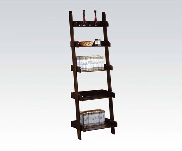 Wales Espresso Wood Wall Shelves Book Shelf ACM-02260
