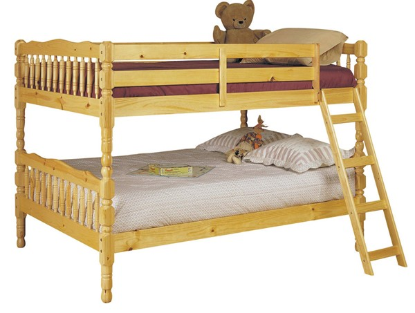 Acme Furniture Homestead Natural Full Over Full Bunk Bed ACM-02290