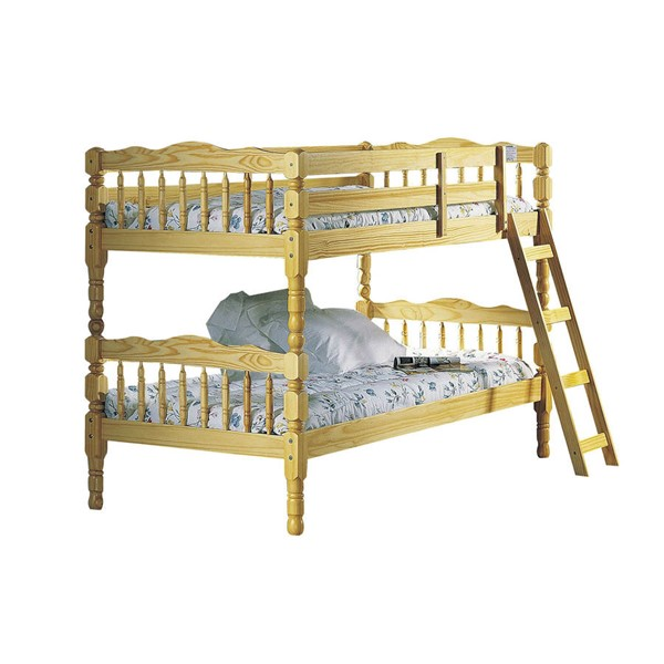 Acme Furniture Homestead Natural Twin Over Twin Bunk Bed ACM-02299