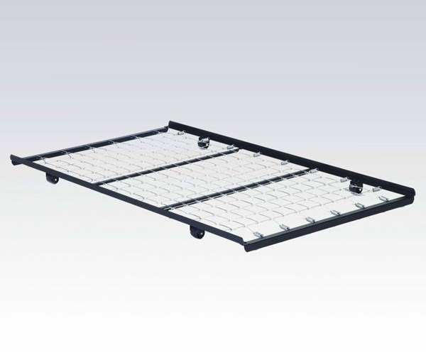 Frame Metal Twin Roll-Out Trundle Bed Frame W/Link Spring ACM-02507