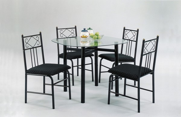 Acme Furniture Penelope Black 5pc Dining Set ACM-02520BK
