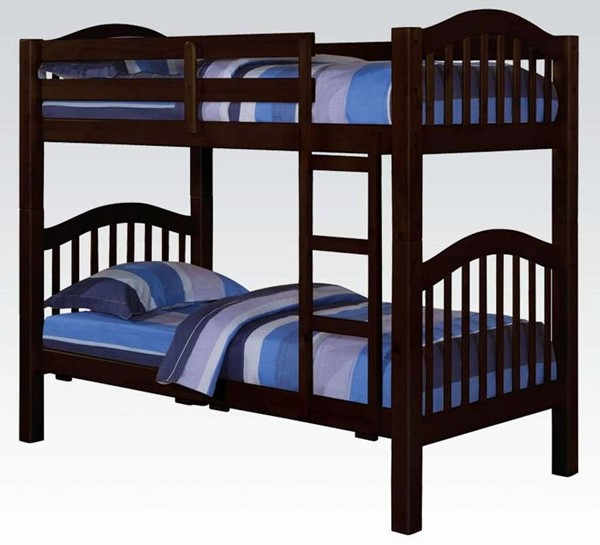 Acme Furniture Heartland Espresso Twin Over Twin Bunk Bed ACM-02554