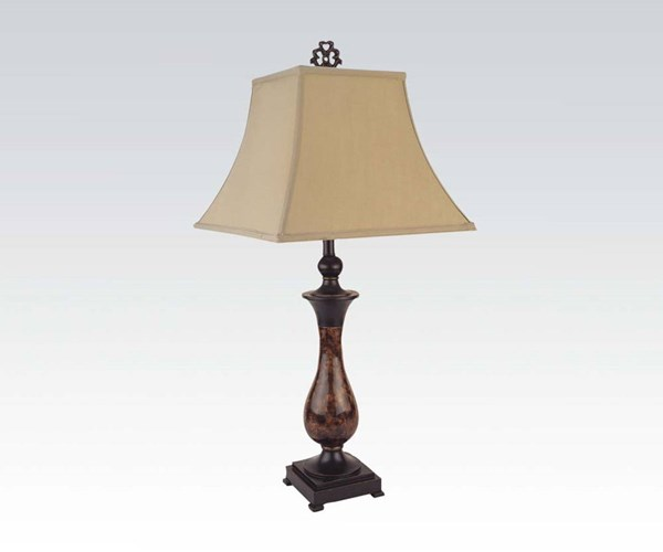 4 Acme Furniture Brown Table Lamps ACM-03032