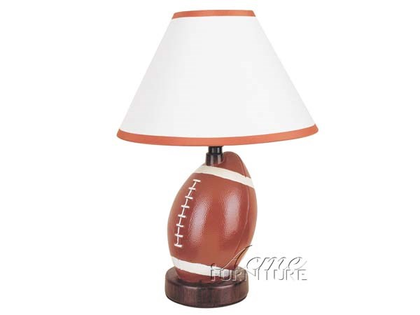 8 All Star Brown White Lightning Table Lamps ACM-03873