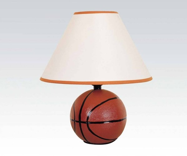 8 All Star Brown Ceramic Lightning Table Lamps ACM-03877