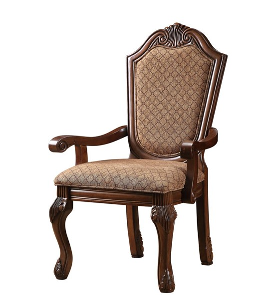 2 Acme Furniture Chateau De Ville Cherry Arm Chairs ACM-04078