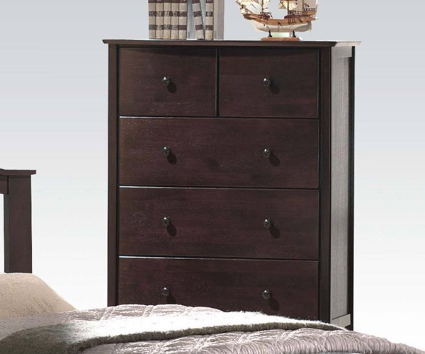 San Marino Transitional Wood Drawer Chests ACM-04996-CHEST-VAR