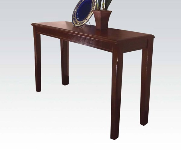 Chester Merlot Wood Rectangle Sofa Table ACM-06157