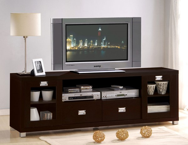 Acme Furniture Commerce Espresso TV Stand ACM-06365