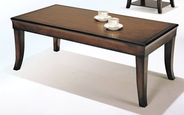 Branford Cherry Poplar Wood MDF Coffee Table ACM-07825B-CO