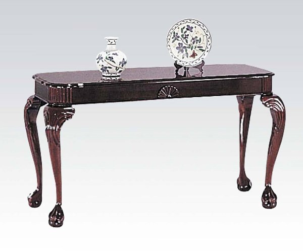 Canebury Cherry Wood Rectangle Sofa Table ACM-08196
