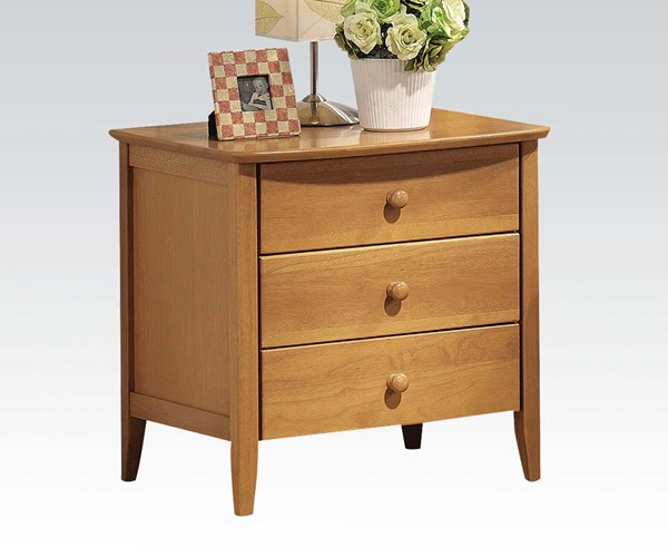 San Marino Transitional Maple Wood Nightstand ACM-08948
