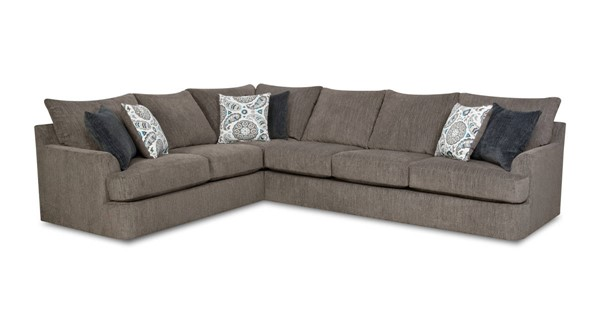 Acme Furniture Firminus Two Tone Brown Chenille Sectional ACM-55795