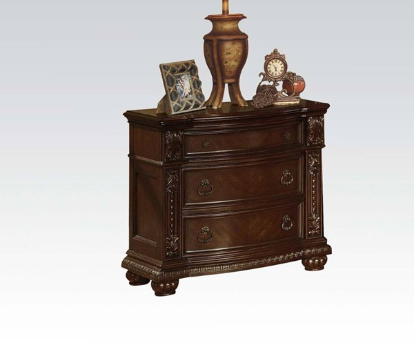 Acme Furniture Anondale Cherry Nightstand ACM-10313