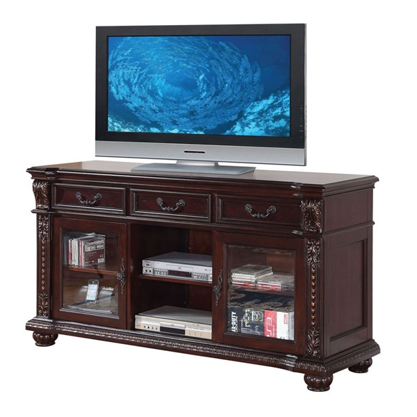 Acme Furniture Anondale Cherry TV Stand ACM-10321