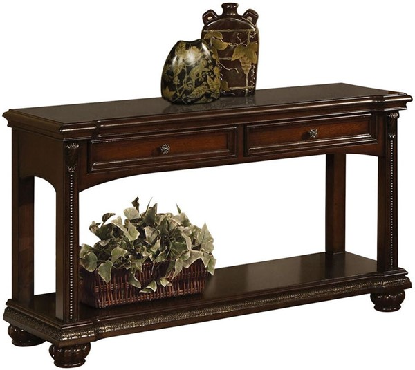 Acme Furniture Anondale Brown Cherry Sofa Table ACM-10324
